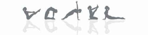 Pilates Übungen Logos